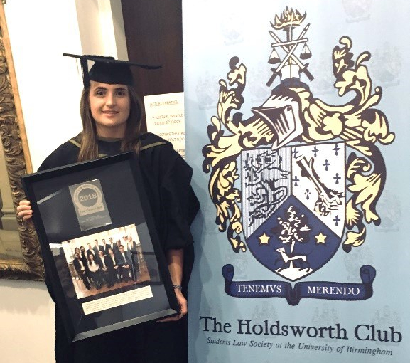 Mima Markicevic - The Holdsworth Club Society (University of Birmingham)
