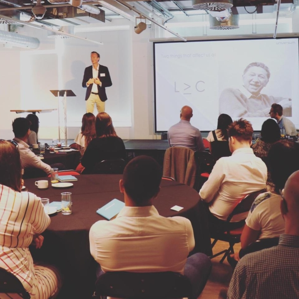 Claes Peyron, Managing Director, Universum Global
